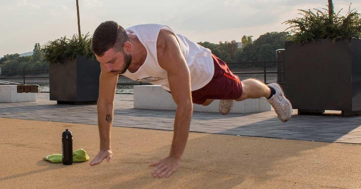 Intervallum edzés saját testsúlyos gyakorlatokkal